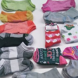 Socks- All 13 pairs Assorted